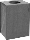 Brabantia Sac à linge rectangulaire 55 litres - Pepper Black