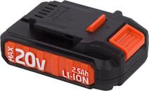 Powerplus Dual Power Batterie 20 V 2,5 Ah lithium-ion