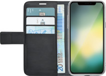 Azuri Wallet Magnet Apple iPhone Xr Book Case Black
