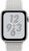 Apple Watch Series 4 44mm Nike+ Silver Aluminum/Nylon Sport Band