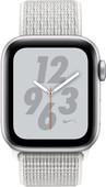 Apple Watch Series 4 40mm Bracelet sportif Nike+ Argent Aluminium/Nylon