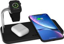ZENS Dual & Apple Watch Chargeur sans fil en Aluminium 10 W Noir