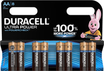 Duracell Ultra Power Piles alcalines 8 pièces