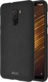 Azuri Flexible Sand Xiaomi Pocophone F1 Back Cover Black