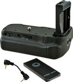 Jupio Battery Grip voor Canon EOS 77D, 800D en 9000D + Cable