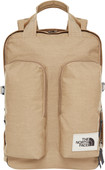 The North Face Mini Crevasse 15 inches Kelp Tan Dark Heather 14L