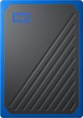 WD My Passport Go 500 GB Black / Blue