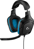 Logitech G432 7.1 Casque gamer Son surround Filaire