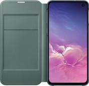 Samsung Galaxy S10e Led View Cover Book Case Zwart