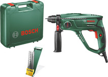 Bosch PBH 2100 Universal + 4-piece SDS-Plus drill and chisel set