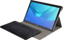 Just in Case Premium Étui Huawei MediaPad M5 10 10 Pro Noir AZERTY