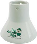 Big Green Egg Sitting Chicken Ceramic Roaster