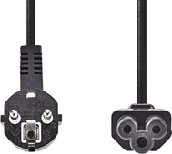 Nedis Power cable Mickey Mouse 2 Meter Black