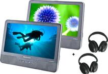 Autovision AV1900IR DUO Deluxe + 2x Casque Audio Autovision AV-IRS