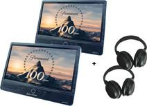 Autovision AV2500IR DUO Deluxe + 2x casque audio Autovision AV-IRS