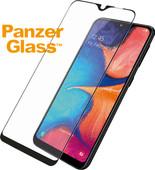 PanzerGlass Case Friendly Samsung Galaxy A20e Screen Protector Glass Black