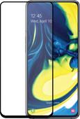 Azuri Tempered Glass Samsung Galaxy A80 Screen Protector Glass Black
