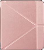 Just in Case Book Case Kobo Forma Or Rose