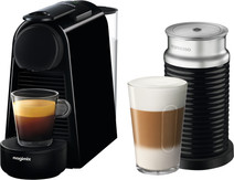 Magimix Nespresso Essenza Mini Black + Milk Frother