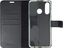 Valenta Booklet Gel Skin Huawei P30 Lite Zwart Leer
