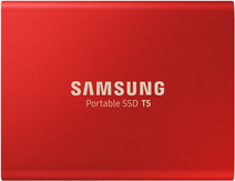 Samsung Portable SSD T5 500 Go Rouge