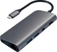 Satechi Type-C Multimedia Adapter Grijs