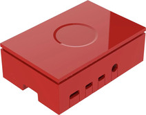 Multicomp Pro Raspberry Pi 4 casing - Red
