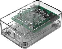 Multicomp Pro Raspberry Pi 4 casing - Power button - Transparent