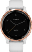 Garmin Vivoactive 4S - Rose Gold / Blanc - 40 mm