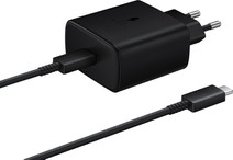 Samsung Charger with Cable 1m USB-C 45W with Power Delivery Black