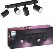 Philips Hue Fugato White & Colour 4 Spots Bluetooth Noir