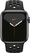 Apple Watch Nike Series 5 40 mm Aluminium Gris sidéral/Bracelet Sport Noir