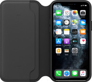 Apple iPhone 11 Pro Folio Cuir Noir