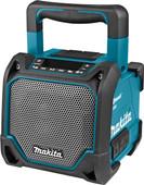 Makita DMR202 Bluetooth speaker met Mediaspeler