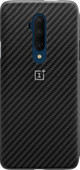 OnePlus 7T Pro Karbon Bumper Case Back Cover Black