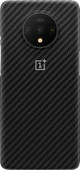 OnePlus 7T Karbon Protective Case Back Cover Zwart