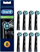 Oral-B Cross Action Zwart (8 stuks)