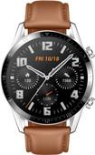Huawei Watch GT 2 Argent/Brun 46 mm