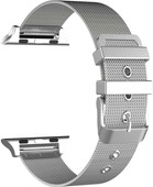 Just in Case Apple Watch 38/40mm Mesh Bandje Zilver