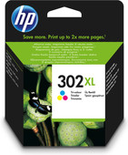 HP 302 Cartridge 3-Kleuren XL (F6U67AE)