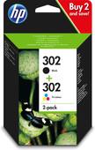 HP 302 Cartouche d'encre Pack Combiné (X4D37AE)