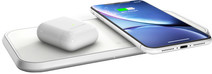 ZENS Dual Wireless Charger 10W White