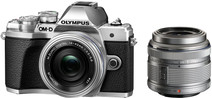 Olympus OM-D E-M10 Mark III Body Zilver + 14-42mm IIR Zilver
