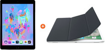 Apple iPad (2018) 128 Go Wi-Fi Gris sidéral + Smart Cover