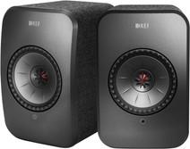 KEF LSX wireless stereo systeem Zwart