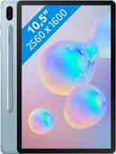 Samsung Galaxy Tab S6 128GB Wifi + 4G Blauw