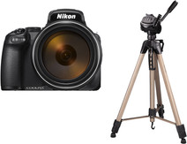 Nikon COOLPIX P1000 + Trépied Hama Star 63