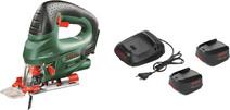 Bosch PST 18 LI + 2x 18-volt 1.3Ah batteries