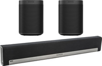 Sonos Playbar 5.0 + One SL (2x) Noir