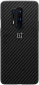 OnePlus 8 Pro Karbon Bumper Back Cover Noir